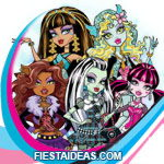 invitaciones monster high