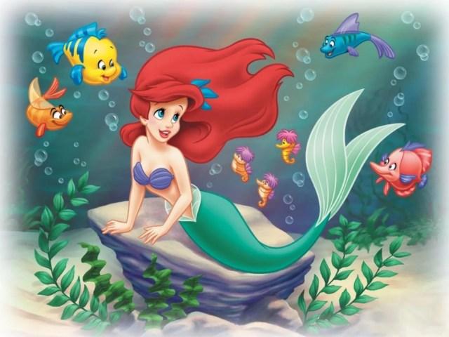 Princesa Disney imagenes para descargar la sirenita