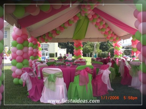Originales decoraciones con globos fotos y videos paso a for Decoracion original