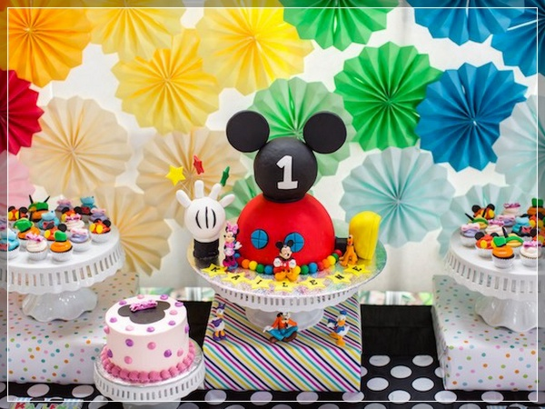50 ideas de fiesta mickey mouse espectaculares for Decoracion la casa de mickey mouse