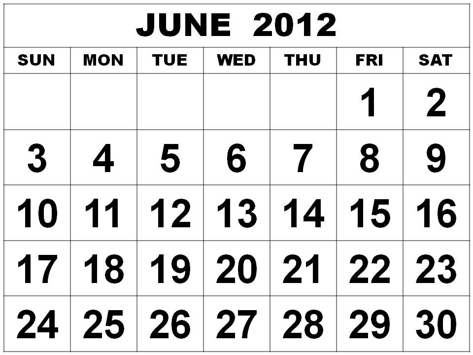 1st Year Calendar Grid Advanced Calendar Creator Time And Date June 2012 Monthly Expenses
