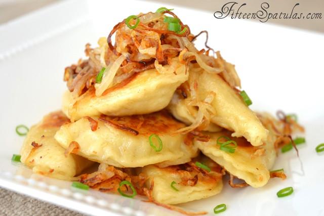 Crispy Fried Pierogies with Caramelized Onions » Fifteen Spatulas