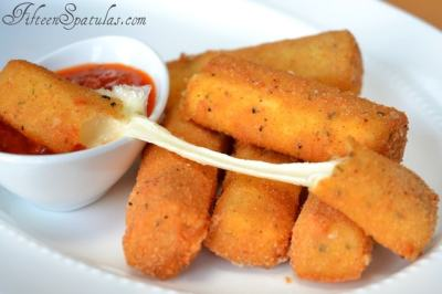 Homemade Mozzarella Sticks - How to Make Mozzarella Sticks