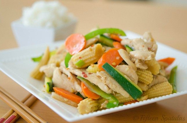 Quick Chicken Stir Fry