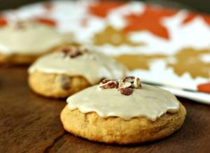 glazed pumpkn cookies recipe for thanksgiving