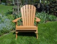 Poly-Lumber Folding Adirondack Chair