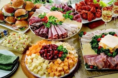Brilliant Buffets And Party Platters Fight Bac