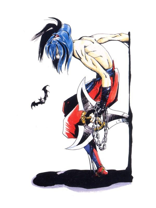 Ninja Anime Wallpaper Basara Kubigiri Samurai Shodown