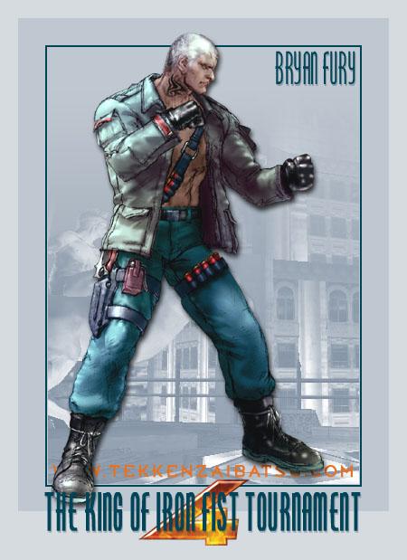 3d Kickboxing Wallpaper Bryan Fury Tekken