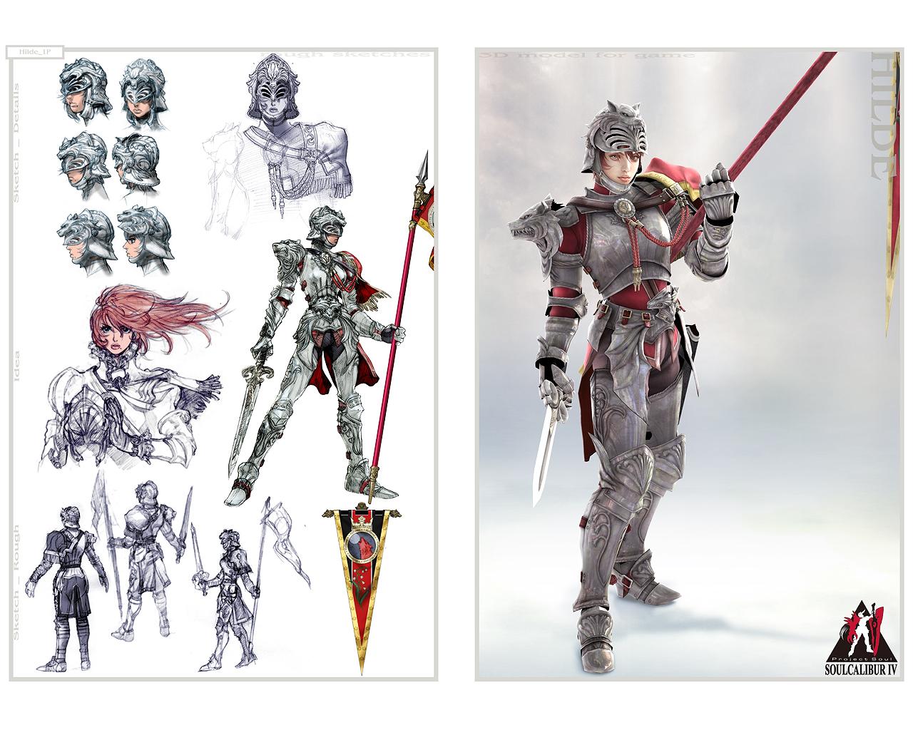 Saint Seiya 3d Live Wallpaper Hilde Soul Calibur