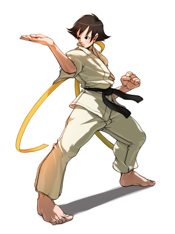 Wallpaper Sakura 3d Makoto Street Fighter