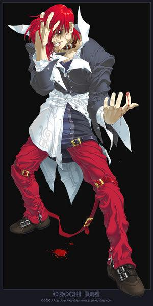 Good Anime Wallpaper Orochi Iori Wild Iori