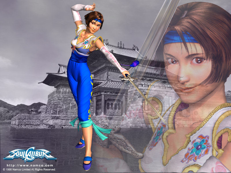 Persona 4 The Animation Wallpaper Chai Xianghua Soul Calibur