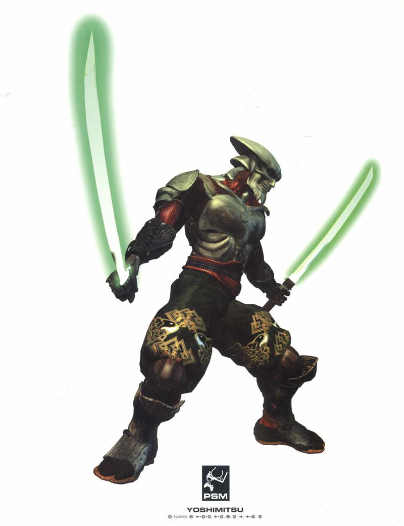 Anime Sword Wallpaper Tekken 3 Character Renders