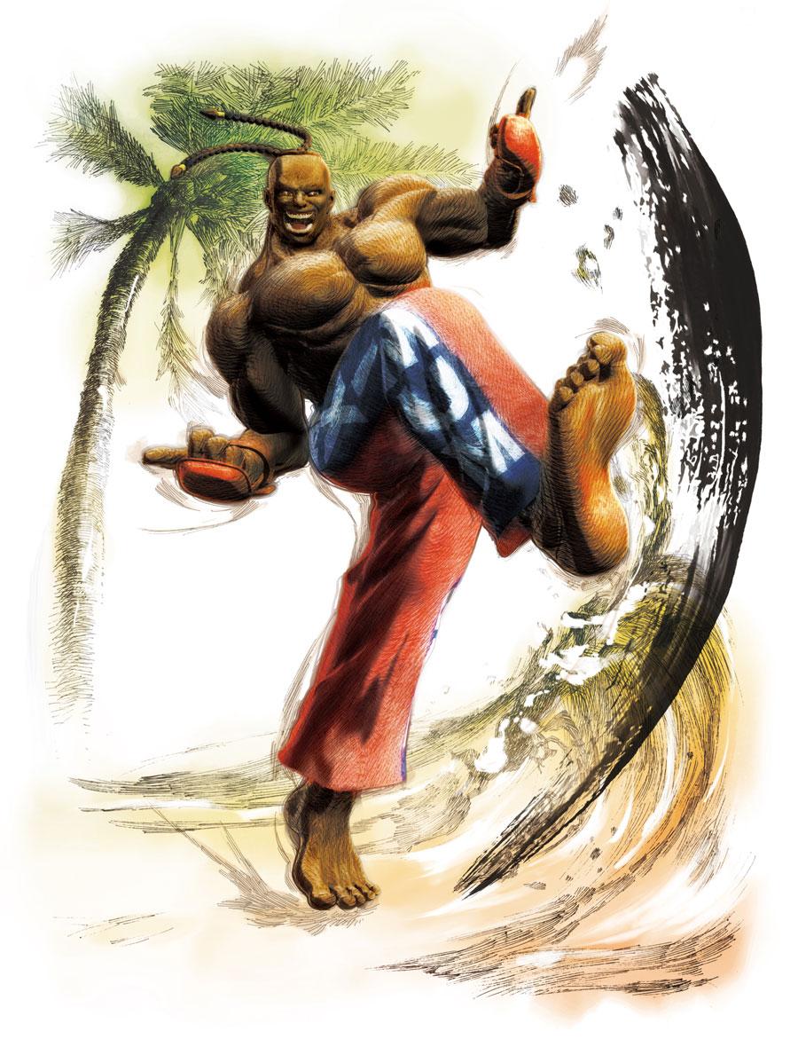 3d Kickboxing Wallpaper Dee Jay Street Fighter