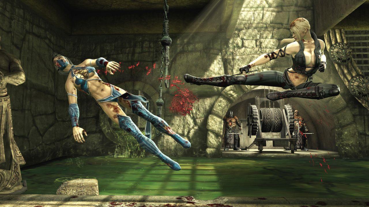 Freddy Krueger Wallpaper 3d Mortal Kombat 9 Tfg Review Artwork Gallery