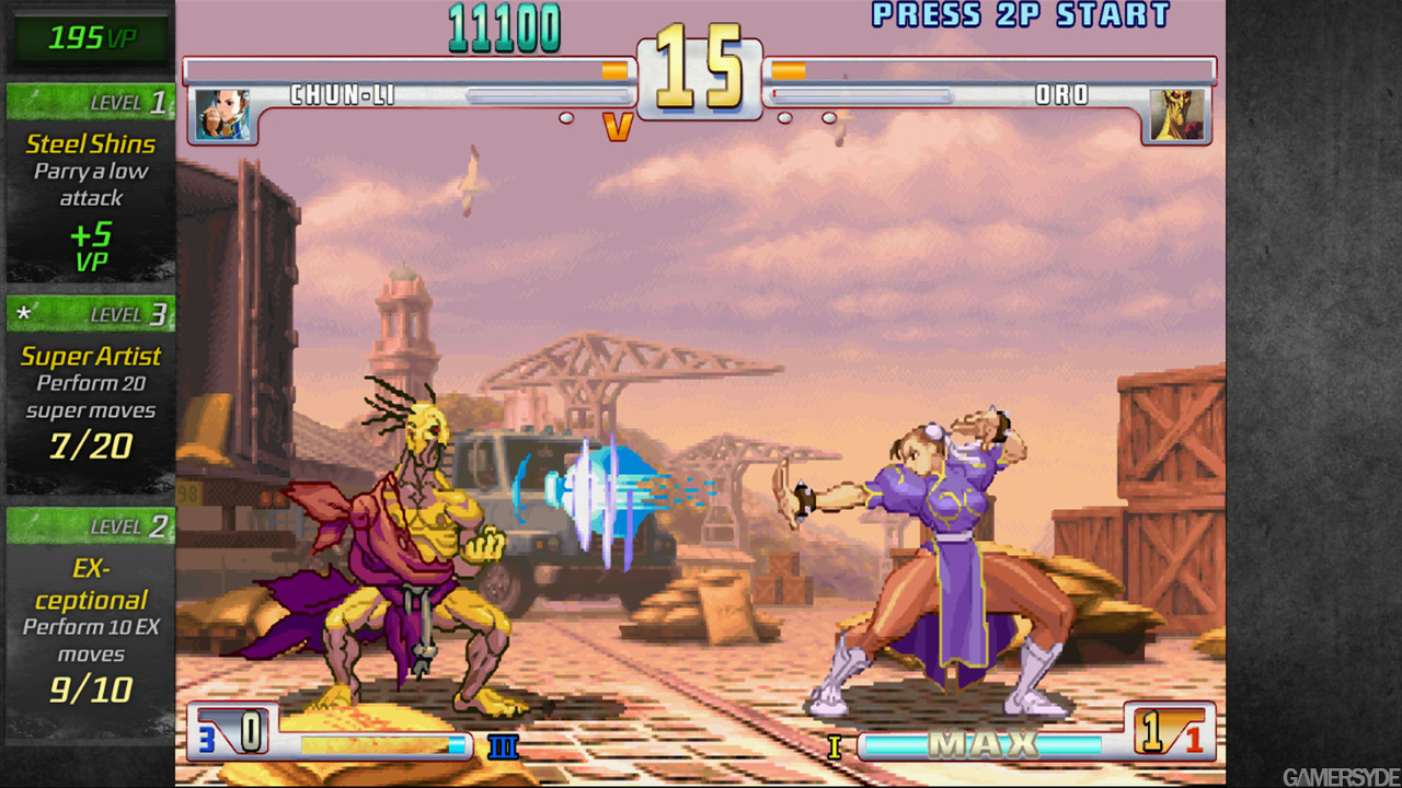 New 3d Animation Wallpaper Street Fighter Iii 3rd Strike Online Edition Tfg Review