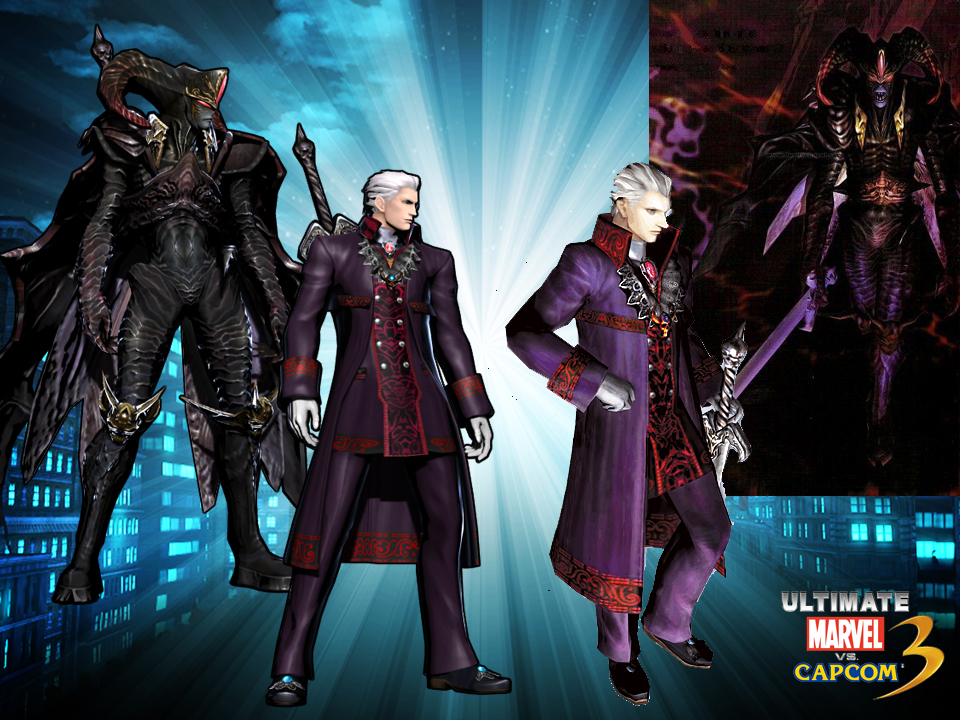 Dante On This Page Quotes Wallpaper Vergil Ultimate Mvc3 Devil May Cry