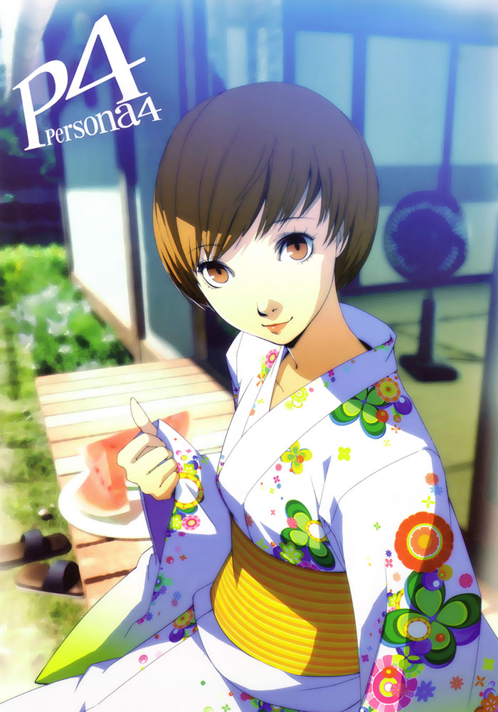 Tomboy Girl Wallpapers Chie Satonaka Persona 4 Arena