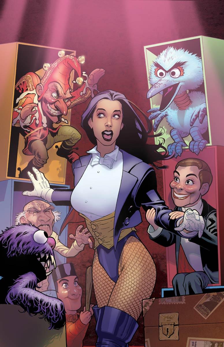 Justice League Girls Wallpaper Zatanna
