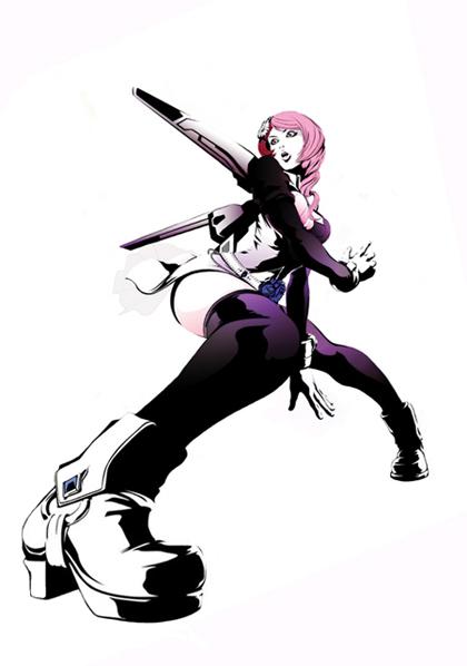 Lol Girl Wallpaper Alisa Boskonovitch Tekken