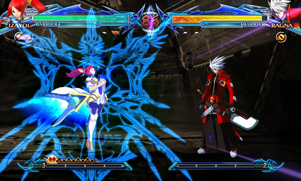 Anime Wallpaper For Ps Vita Blazblue Chrono Phantasma Tfg Review Art Gallery