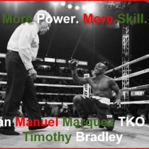 Timothy Bradley Will Get KO'd By Juan Manuel Marquez