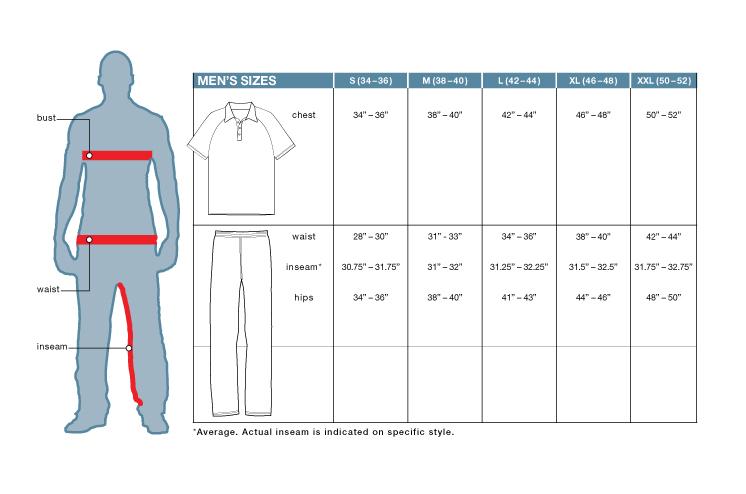 Size Guide - FILA