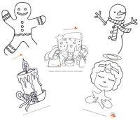 Disegni di Natale da colorare per bambini