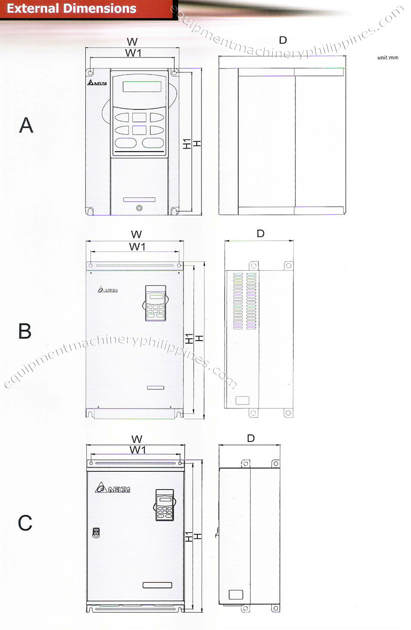 delta vfd b series standard wiring diagram philippines