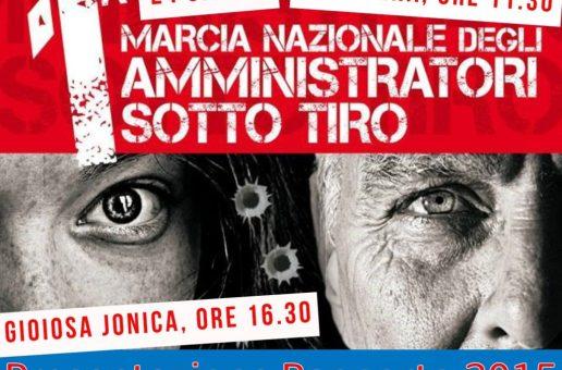 ADESIONE DELLA FILCA ALLA MARCIA NAZIONALE DEGLI AMMINISTRATORI SOTTO TIRO