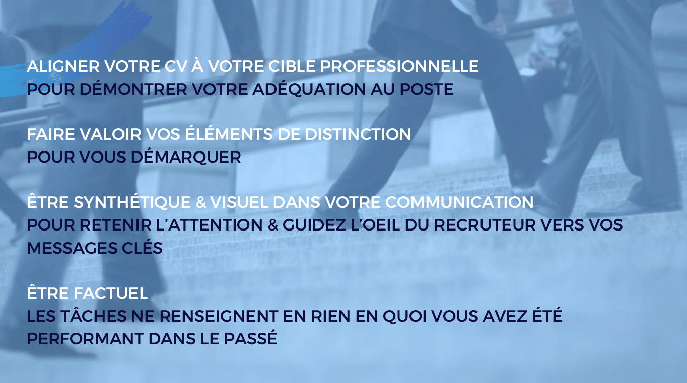 passer la phase de screening cv en ligne