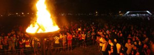 UP Diliman bonfire