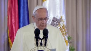 pope francis malacanang speech
