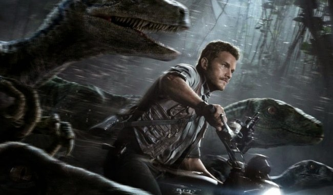 jurassic world chris pratt