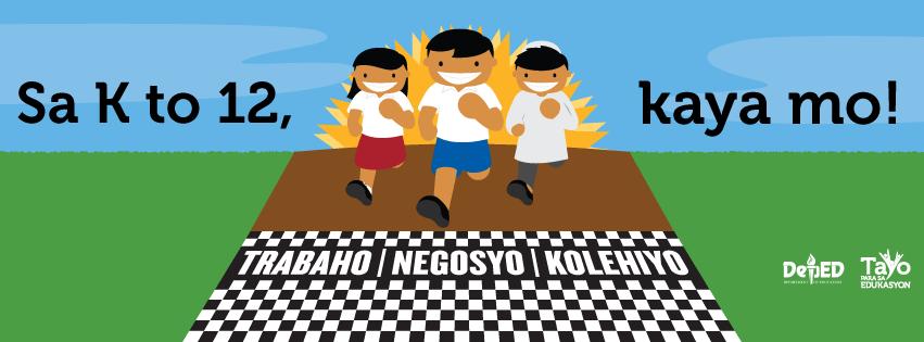 """2016 Graduation Theme: """"Kabataang Mula sa K to 12, Tagapagdala ng Kaunlaran sa Bansang Pilipinas"""""""