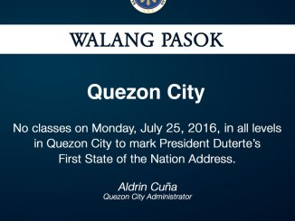 july 25 2016 class suspensions