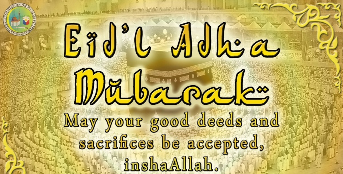 Eid'l Adha – September 12 2016 Philippine holiday