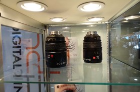 Band Pro - IB/E prototype 25, 35 mm Raptor large format lenses