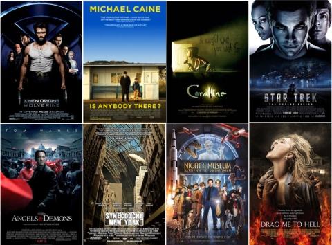 UK Cinema Releases May 2009