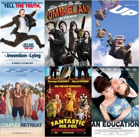 UK Cinema Releases - October 2009