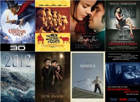 UK Cinema Releases November 2009