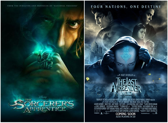 UK Cinema Releases 13-08-10 / The Sorcerer's Apprentice / The Last Airbender