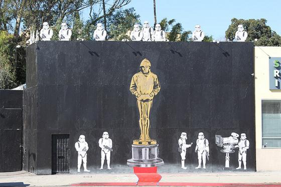 Banksy Oscar Campaign?