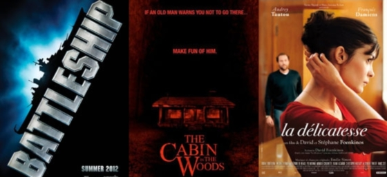 UK Cinema Releases 13-04-12