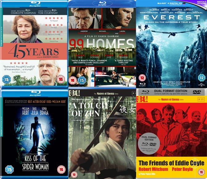 DVD & Blu-ray Picks: January 2016