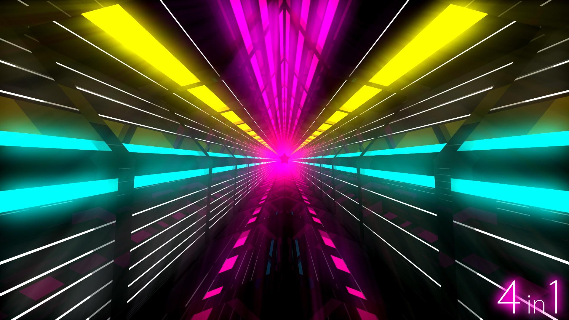 Animated 3d Wallpaper Gifs Looping Vj Light Tunnel