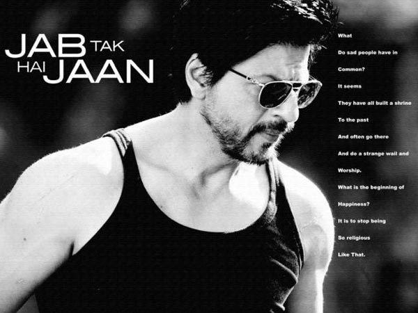 Shahrukh Khan Hd Wallpapers 2012 Shahrukh Khan Looks Stunning In Jab Tak Hai Jaan S New