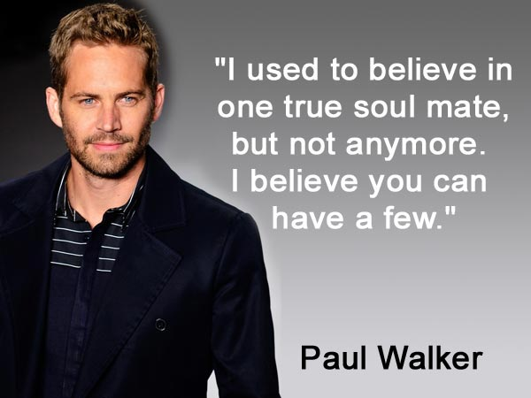 Short Quotes Wallpapers Hd Best Quotes Of Paul Walker Birthday Special Filmibeat