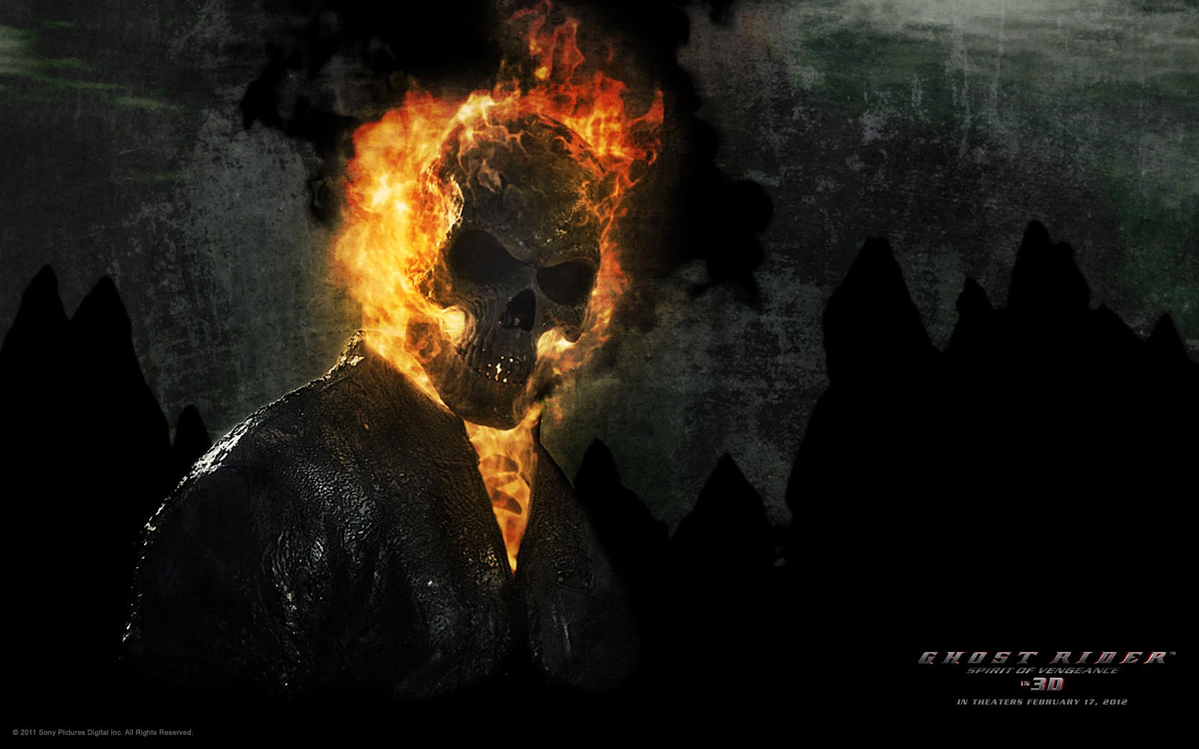 Abhishek Name Wallpaper 3d Ghost Rider Spirit Of Vengeance Wallpapers Filmofilia